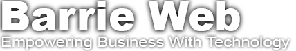 Barrie Web Design Company, Marketing SEO Services Logo