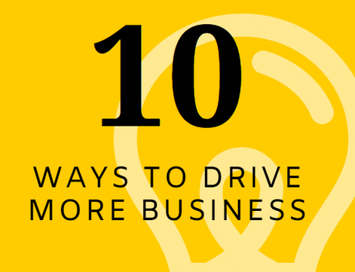 10 ways to drive more business